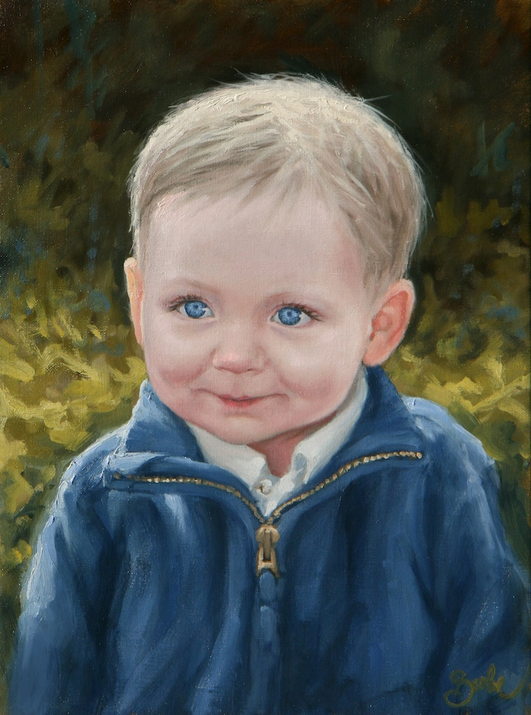young Will | 16x12 | oil on linen